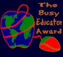 Busy Educator Award